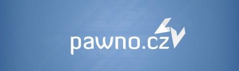 Původní návrh nového loga Pawno.cz.