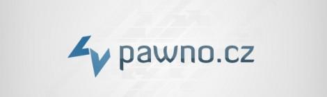 Finální návrh nového loga Pawno.cz.