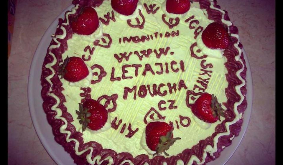 narozeninový dort letajicimoucha.cz